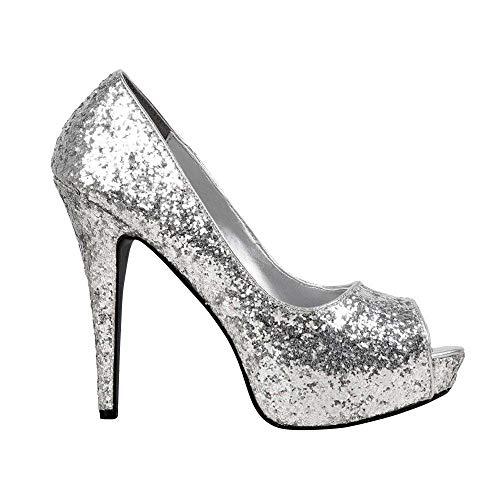 Boland Damen Allure Heels, Silber, 37 EU