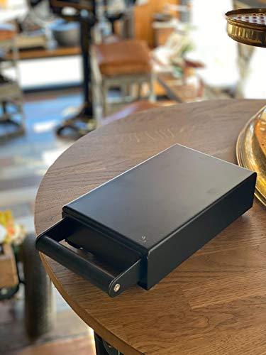 Espresso Perfetto Sudschublade Mini Black | Ideal unter kleine Mühlen wie z.b. Eureka Mignon, Macap M2 Serie