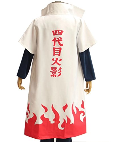 Naruto Yondaime Hokage cloak cloak costume white total length 108cm