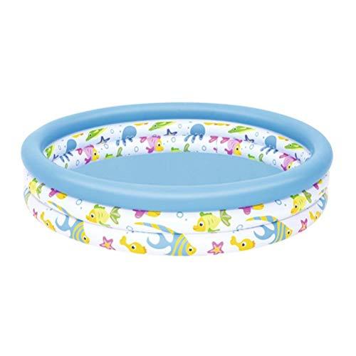 DFSDG 102cm Piscina Inflable Piscina Gruesa Piscina de Verano Suministro de la Fiesta de Agua de Verano Piscina de Familia Grande para niños Adulto
