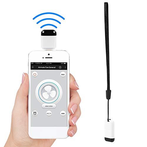 ASHATA Android smartphone Universal mobiele telefoon IR afstandsbediening, voor TV/DVD-speler/set-topbox/airconditioning/projector/licht/ventilator/koelkast, Type C