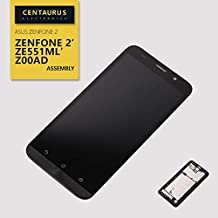 SEEU. AGAIN Fit Asus ZE551ML Replacement LCD Display Touch Screen Digitizer Frame Bezel Full Assembly Compatible Asus Zenfone 2 ZE551ML Z00AD 5.5 inch