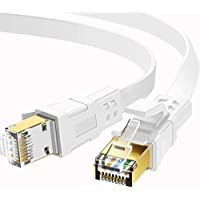 Jadaol 50-Foot Cat 8 Ethernet Cable for Router/Modem/Gaming/Switch
