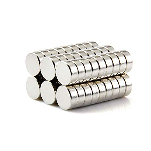 Small Cylinder Fridge Magnets, Office Magnets, Whiteboard Magnets, Durable Mini Magnets (60PCS) 8×3MM