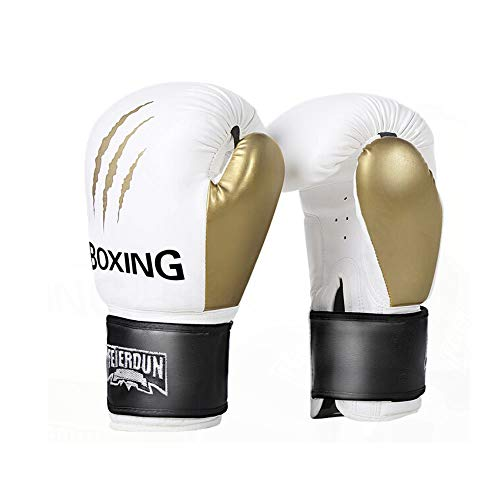 XIAONINGMENG Boxing Gloves, Adult Professional Sanda Training Muay Thai Gloves, Fighting Fighting Gloves, Sandbag Gloves, Wolf Claw Platinum, The Best Gift for Fitness Lovers