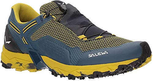Salewa Herren MS Ultra Train 2 Trekking- & Wanderstiefel, Night Black/Kamille 960, 46 EU