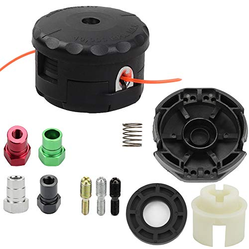 Venseri Universal Trimmer Head with Cover for Echo Speed Feed 400 Echo SRM210 SRM225 SRM260 SRM261 SRM280 SRM1500 GT200 GT225 GT100 GT140 GT160 Trimmer Weed Eater 99944200907