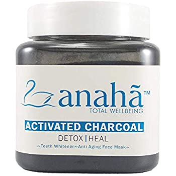 Anaha Highest Grade Activated Charcoal, 70g