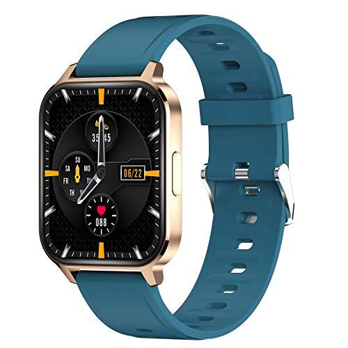 TWW Smart Watch Für Männer, Frauen, Fitness-Tracker-Telefone, wasserdichte Sportuhr IP68 Zum Zoomen Über Das Bild Rollen,Grün
