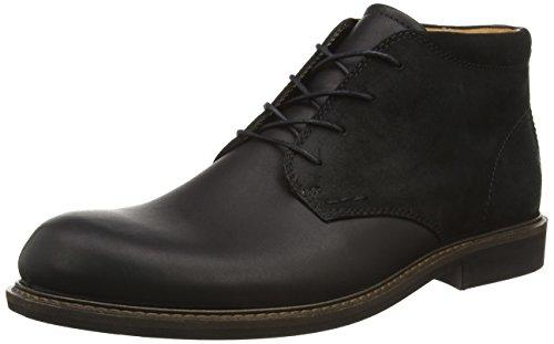 Ecco Herren FINDLAY Chukka Boots, Schwarz (BLACK/BLACK 51707), 45 EU