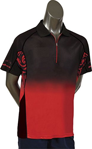 Unicorn Player Team Dart Shirt Michael Smith mit Reißverschluss 2XL
