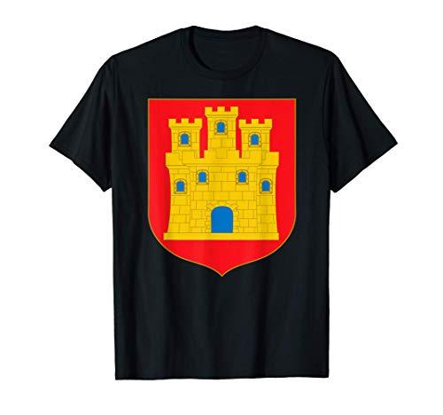 Escudo de Castilla Heráldica medieval Camiseta