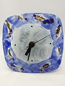 Futura Diffution Reloj de mesa de cristal de Murano