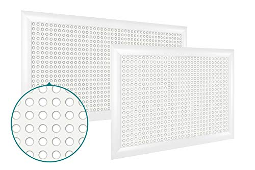 Heizkörperverkleidung   hitzebeständige MDF Platte   Heizung   Abdeckung   modern   Lüftungsgitter   verschiedene Größen   120 x 60 cm   Foro 16