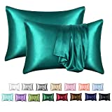 MR&HM Satin Pillowcase for Hair and Skin, Silk Satin Pillowcase 2...