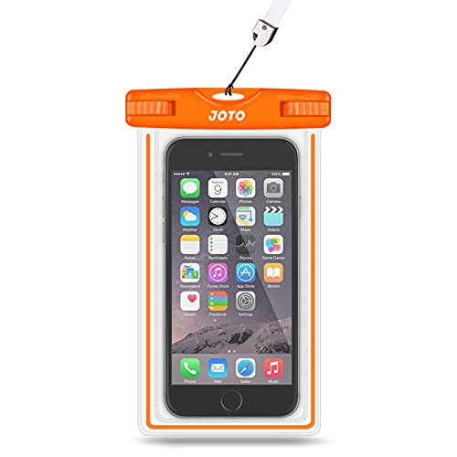 JOTO Universal Waterproof Case, Cellphone Dry Bag for iPhone 12 Pro Max 11 Pro Max Xs Max XR X 8 7...