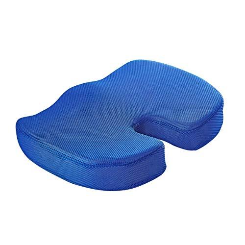 Memoria en forma de u espuma de espuma de espuma de espuma de espuma de asiento de asiento Viaje Ortopédico PROTECCIÓN DE PROTECCIÓN DE PROTECCIÓN Cojín de malla transpirable Masaje Cojín de cadera Hu