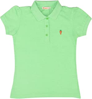 Carrot T-shirt Polo For Girls