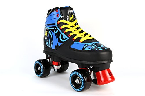 KRF Disco Ethnic rolschaatsen voor kinderen, scooter figuur quad