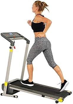 Sunny Health & Fitness Folding Compact Motorized Treadmill