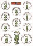 Janosch Multi-Sticker-Postkarte Lach doch mal