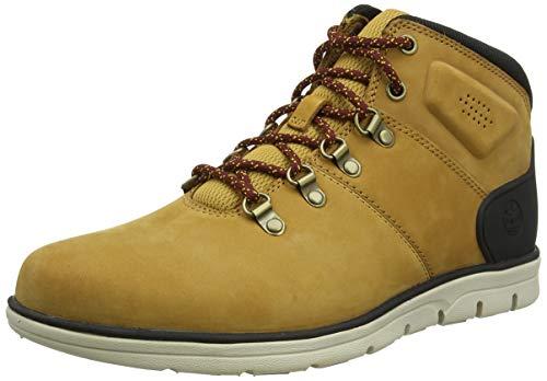Timberland Herren Bradstreet Hiker Chukka Boots, Gelb (Wheat Nubuck), 43.5 EU