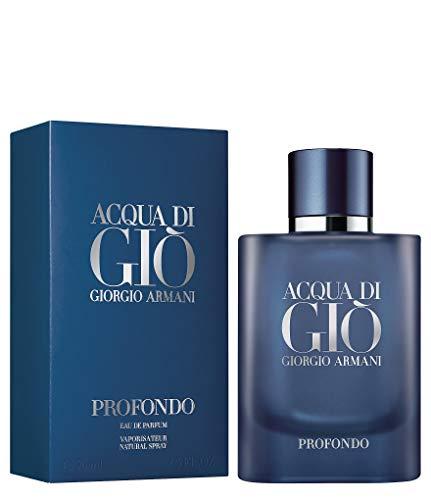 GIORGIO ARMANI Acqua Di Gio Profondo para hombre Eau De Parfum Spray 4.2 onzas, azul