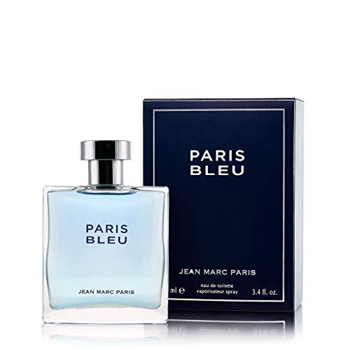Jean Marc Paris Paris Bleu Homme Eau de Toilette Spray, 3.4 fl. oz,...