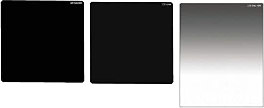 ICE 150mm ND/Grad 3 Filter Set Soft GND8 ND64 ND1000 Neutral Density Optical Glass Includes Hard Plastic Hard Shell Cases 150 Kit