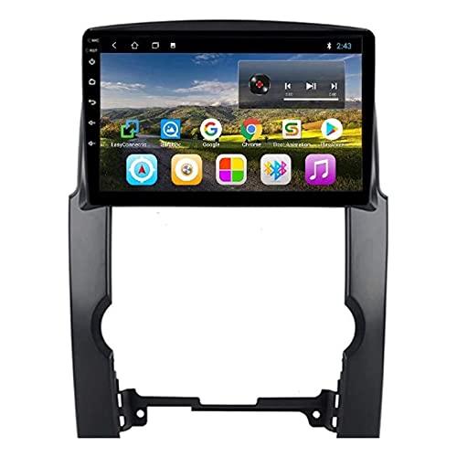 Android 8.1 GPS Navigation Car Radio Player para Kia Sorento 2009-2012, FM/Bluetooth/WiFi/SWC/Enlace del Espejo/Cámara De Vista Trasera,4 core-4G+WiFi: 1+16G