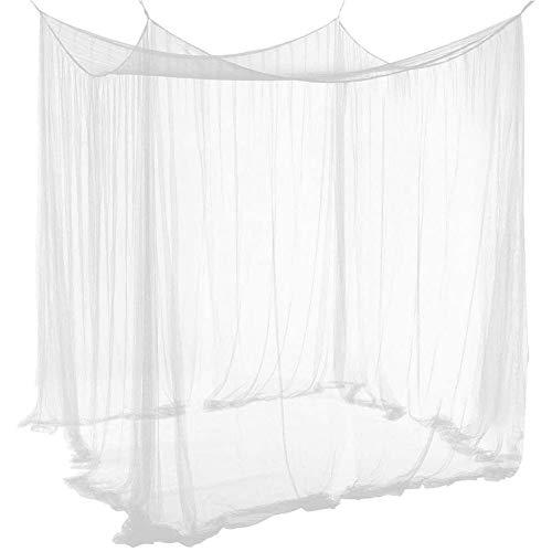 BESLIME Mosquito Net, Mosquitero Cuadrados, para Acampar Jardín Red a Prueba de Insectos para versatilidad Tanto en Interiores como en Exteriores (210x200x160cm)