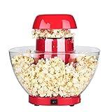 ZTSS 1200W Macchina per Popcorn ad Aria Calda – capacità...