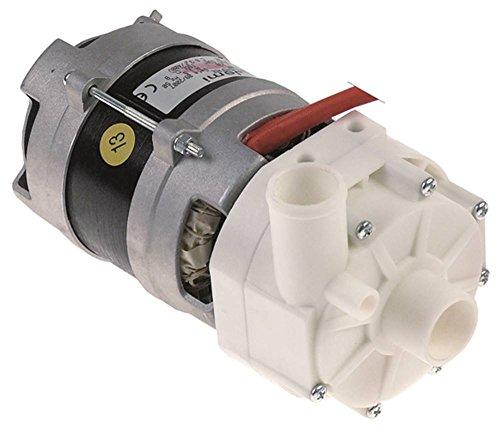 FIR 2214.1600 - Bomba para lavavajillas Jemi GS-2, GS-3, GS-1 (0,11 kW/0,15 PS, 230 V, entrada de 28 mm de diámetro, salida de 26 mm de longitud, 197 mm, 50 Hz