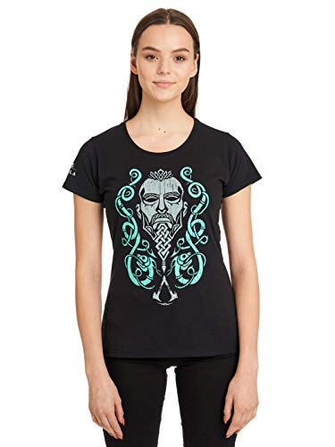 Assassins Creed Valhalla Northman & Ornaments Damen T-Shirt, Größe:XS