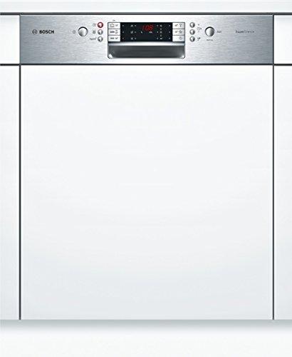 Bosch SMI69N75EU Serie 6 Geschirrspüler Teilintegriert / A+++ / 237 kWh / 14 MGD / edelstahl  / ActiveWater Technologie / Beladungs-Sensor