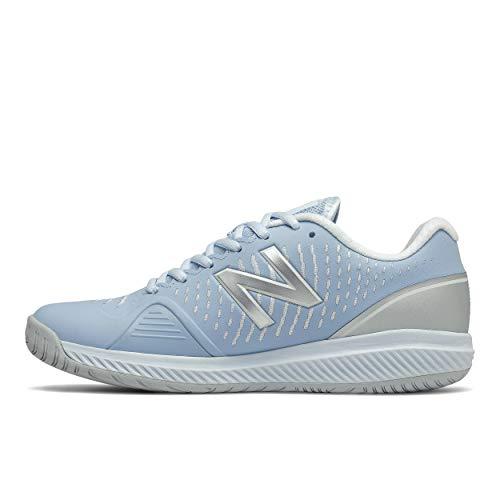 New Balance Women's 796 V2 Hard Court Tennis Shoe, Uv Glo/Silver, 9