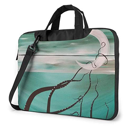 Octopus Feet Laptop Shoulder Bag Sleeve Case, Shockproof Laptop Briefcase Computer Bag