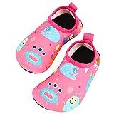 TAGVO Chaussures d'eau Bébé Garçon Fille, Enfant Chaussures Plage Antidérapants...