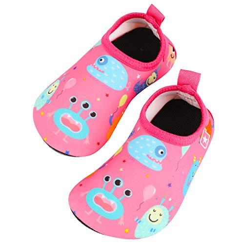 TAGVO Zapatos de Agua Baby Girl Girl, Zapatos de Natación d