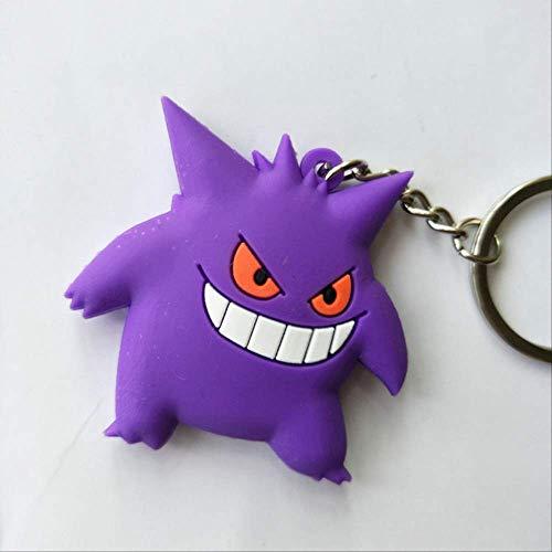 WFQ Schlüsselanhänger 3D Anime Abbildung Keychain Nettes PVC-Taschen-Hängendes Schlüsselketten-GeschenkC15