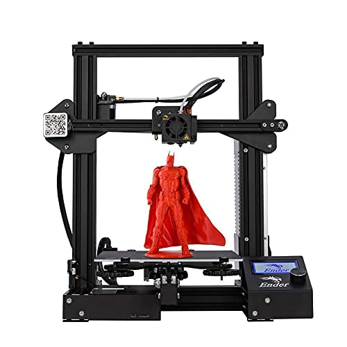 3IDEA - Creality Ender 3 Pro 2020 3D Printer ORIGINAL   Removable Build Surface Plate and UL Certified Power Supply   220x220x250mm