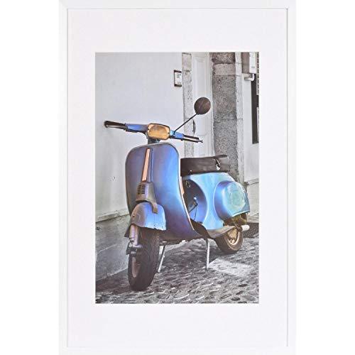 Henzo Umbria 40x60 Frame WP Weiss Bilderrahmen, Holz, Bildformat 40x60 cm