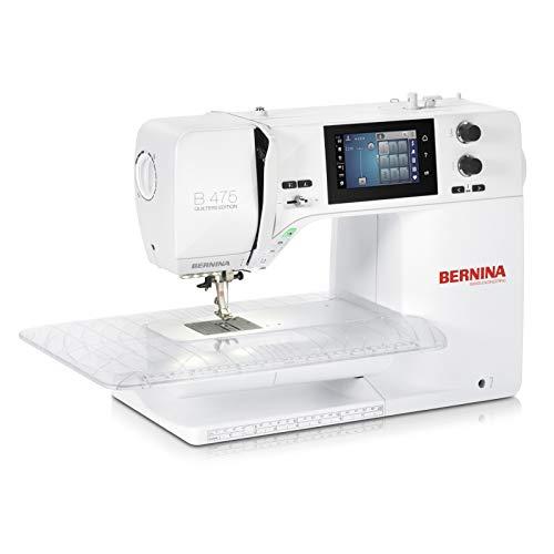 Bernina 475 Quilters Edition - Máquina de coser (4 unidades)
