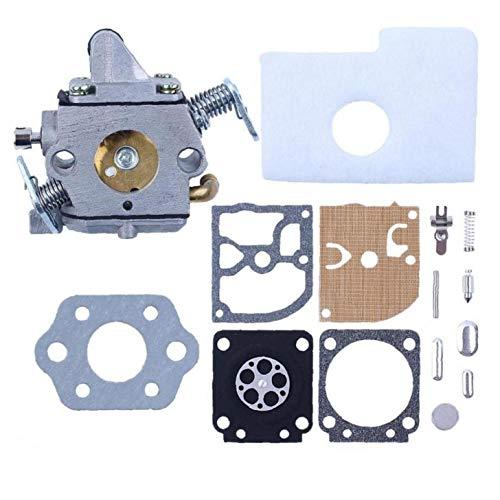 Hainice Carburador w/Carb diafragma Gasket Filtro de Aire Kit para STIHL 017 018 MS170 MS180 MS 170 180 Motosierra OEM # ZAMA C1Q-S57 Accesorios de Repuesto