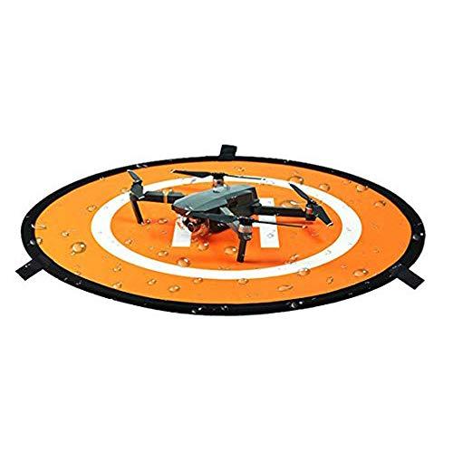 Linghuang 110 cm RC Drohne Landing Pad faltbar Landepad für DJI Mavic Air Mavic 2 Pro Zoom Mavic 2 Phantom DJI 2 3 4 Quadrocopter Pad zum Starten und Abnehmen