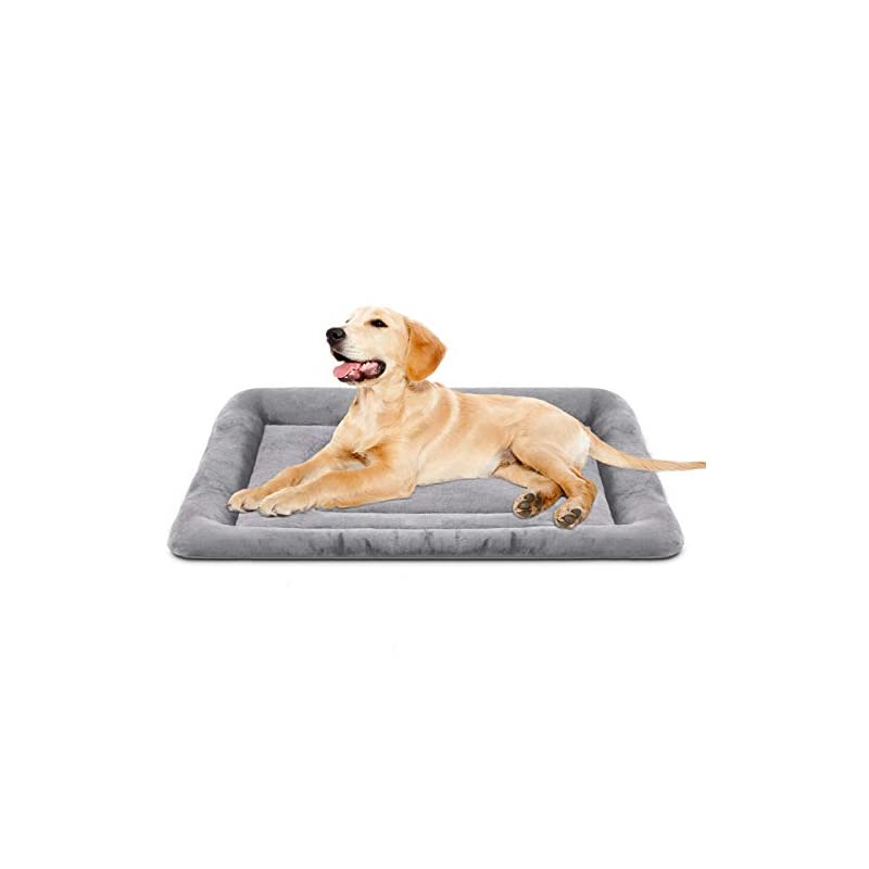 dog supplies online joicyco 36 inch dog bed washable crate pad anti-slip soft pet beds mattress kennel bed mat