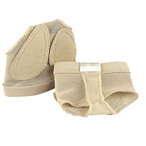 D DOLITY Premium Foot Thongs Ballenschutz Ballet Zehenschutz Protection Toe Guard - Beige, M