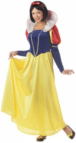 Ladies Official Disney BIANCANEVE DELUXE Princess Fairytale Costume
