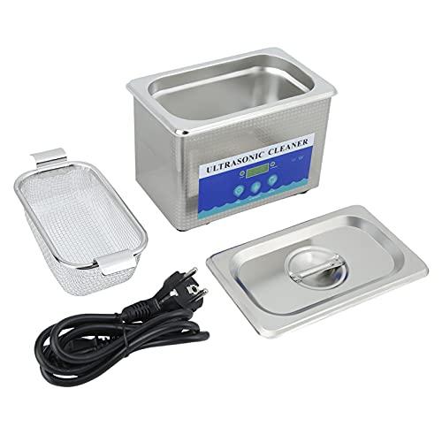 Ausla Máquina de Limpieza, Temporizador de Limpiador ultrasónico de Alta eficiencia para joyería para Tienda óptica
