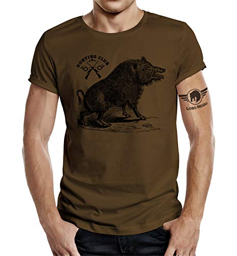 Jäger T-Shirt: Hunting Club Wildsau S